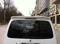 Спойлер anatomic (под покраску) Peugeot Partner