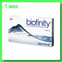 Biofinity контаткные линзы за 3 линзы 582 грн Cooper Vision США