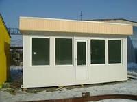 Построить каркасное торговое здание МАФ, (здание мало архитектурной формы) в Днепропетровске