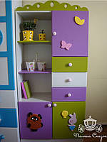 "Стеллаж-шкафчик с ящиками ""Винни""., фото 1"