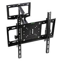 Кронштейн для телевизора поворотный 26 - 52 дюйма 40 кг H401 крепление для телевизора | код: 20.01889