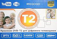 Цифровий ефірний тюнер Dvb T2 terrestrial, фото 1