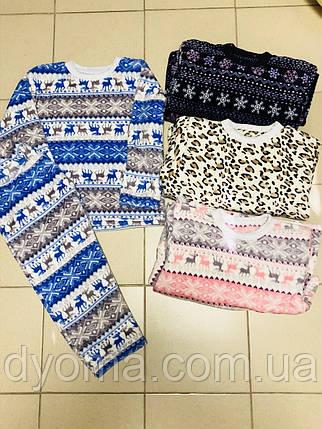 0fa3afbded0e2 Купить Детская махровая пижама для девочек и мальчиков (подросток) в ...