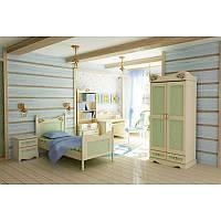 Детская комната Angel береза с разноцветными вставками, фото 1
