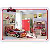 Детская комната с кроватью машинкой Driver Маквин мальчику