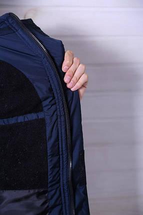 Куртка мужская /Парка ТНФ зимняя в стилеThe North Face / синяя , фото 2