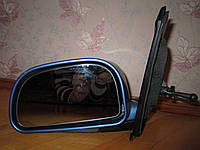 Зеркало левое механическое синее Mitsubishi Space Star 1998-2005 г , фото 1