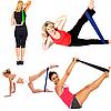 Резинка для фитнеса и спорта TTCZ (эластичная лента эспандер) набор 4 шт + Чехол в комплекте, фото 4