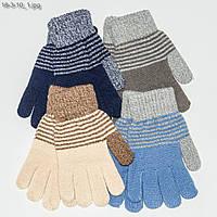 Детские перчатки на мальчика 5-8 года - №18-3-10, фото 1