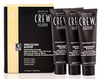 Система маскировки седины American Crew (уровень 7-8) Precision Blend Light