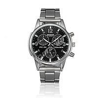 Чоловічі кварцові годинники MiGEER G2004 Black