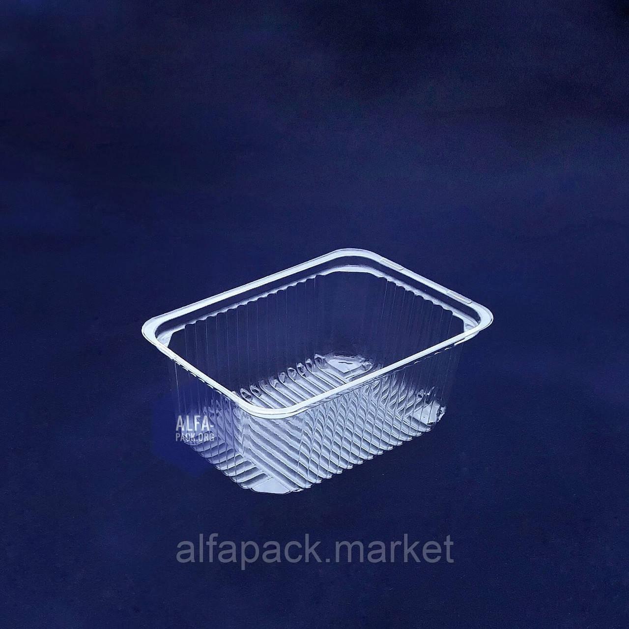Одноразовая блистерная упаковка ПС-160, 143*104*58