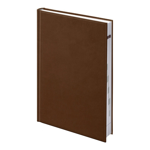 Ежедневник недатированный А5 Brunnen TORINO Агенда коричневый