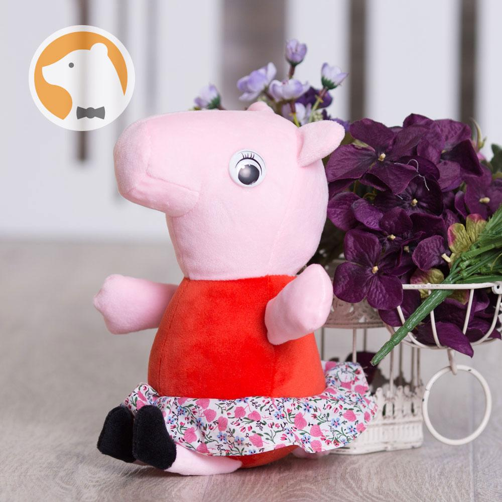 Мягкая игрушка Свинка Пеппа, 30 см