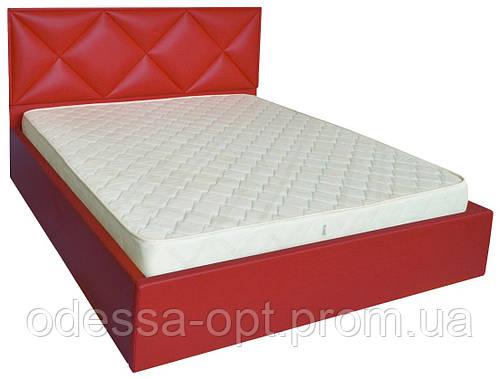 Кровать двуспальная ромбы