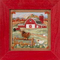 Набор для вышивки Mill Hill Country Morning  Country Lane Series (2013)
