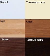 Кровать деревянная Милана Люкс ТМ Олимп, фото 2