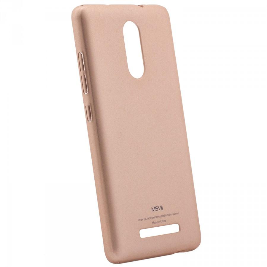 "Накладка Xiaomi Redmi Note 3/Redmi Note 3 Pro ""Msvii Quicksand"" золотая"