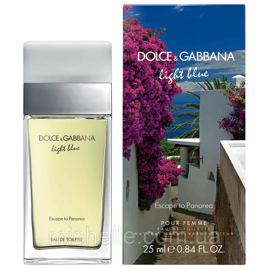 Туалетная вода для женщин Dolce&Gabbana Light Blue Escape to Panarea (Лайт блю Эскэйп ту Панарейя) копия