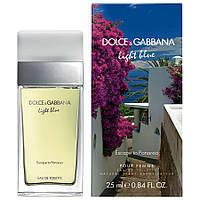 Туалетная вода для женщин Dolce&Gabbana Light Blue Escape to Panarea (Лайт блю Эскэйп ту Панарейя) копия, фото 1