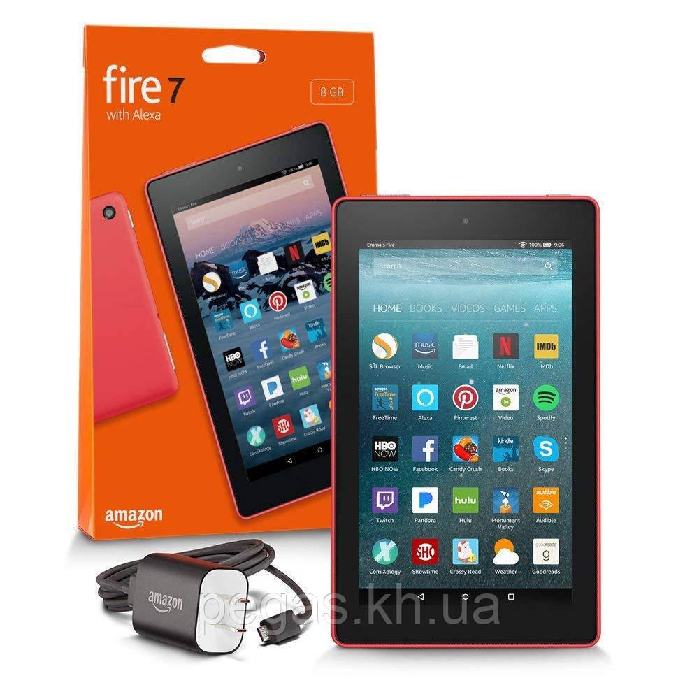 Планшет Amazon Kindle Fire 7дюймов. Красный Новый