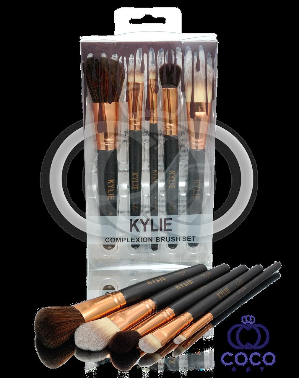 Набор кистей для макияжа Kylie Complexion Brush Set 5 шт