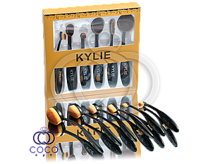 Набір кистей для макіяжу Kylie 6 шт.