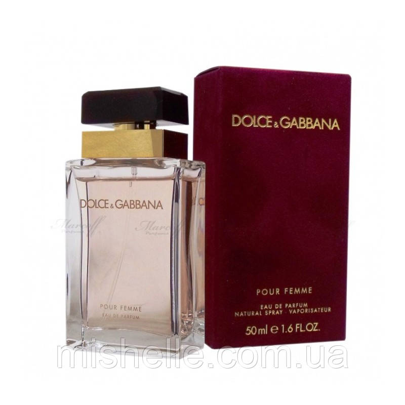 Женская туалетная вода Dolce & Gabbana Pour Femme (Дольче  Габбана Пур Фемм) реплика