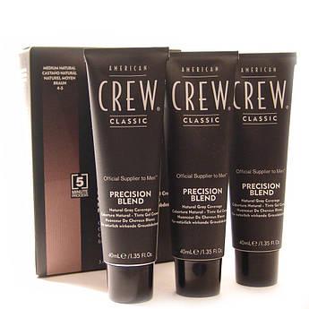 Система маскировки седины American Crew (уровень 4-5) Precision Blend Medium