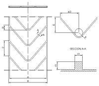 Шевронная конвейерная лента Beltsiflex КAN 15