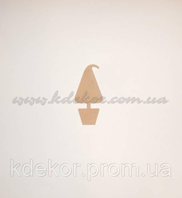 Елка (Елочка) панно (заготовка под магнит) заготовка  для декупажа и декора
