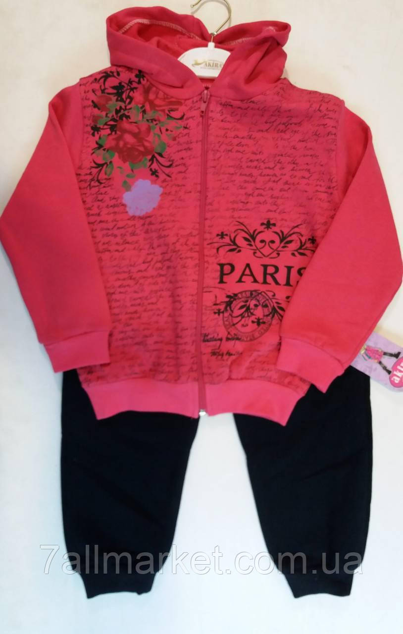 1654e969d716 Спортивный костюм на манжетах на девочку 5-8 лет (4цвета)