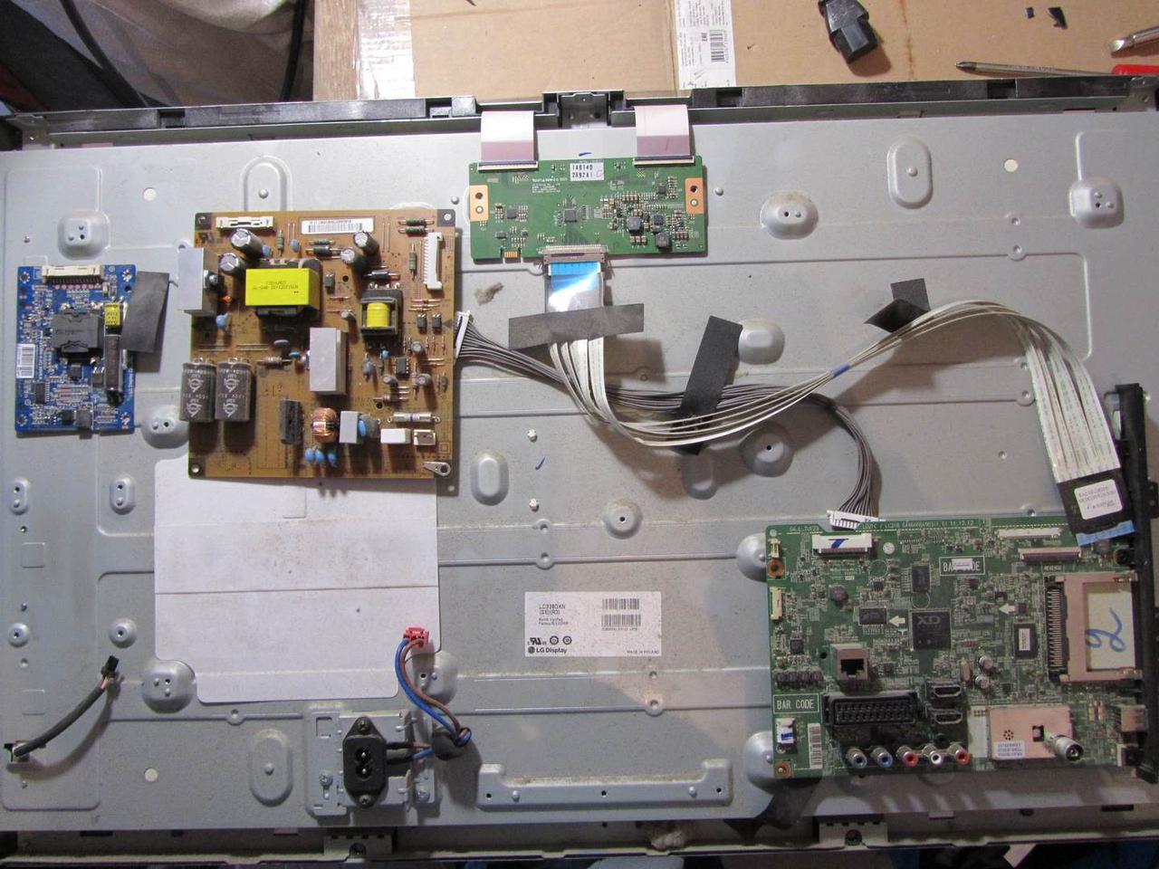Запчасти к телевизору LG 32LS340T (EAX64664903(1.0), EAX64560501(1.7), 6870C-0370A)