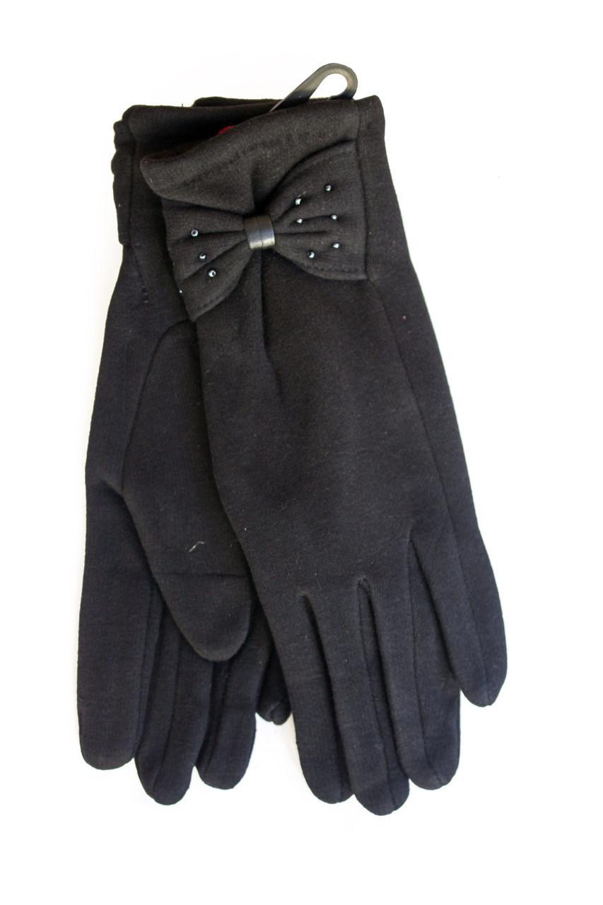 Женские стрейчевые перчатки Средние