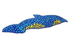 """Коврик-дорожка массажный """"Ортопед"""" Дельфин (100*40 см) + запасные камушки"""