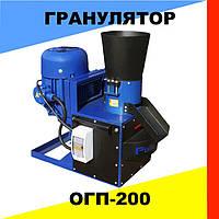 Гранулятор комбикорма и пеллет (5,5 кВт, 380 в, 200/100 кг в час)