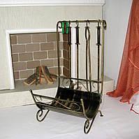 Набор для камина с дровницей, фото 1