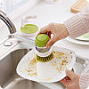 Щетка для мытья посуды с дозатором JOSEPB JOSEPB Palm Crub Green, фото 4