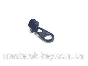 Бегунок для спиральной молнии №3 цвет черный 13857