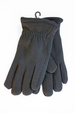 Мужские зимние перчатки + кролик Маленькие Сенсорные, фото 2