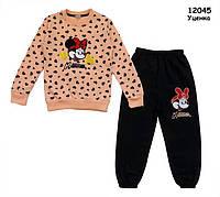 Теплый костюм Minnie Mouse для девочки. 7 лет