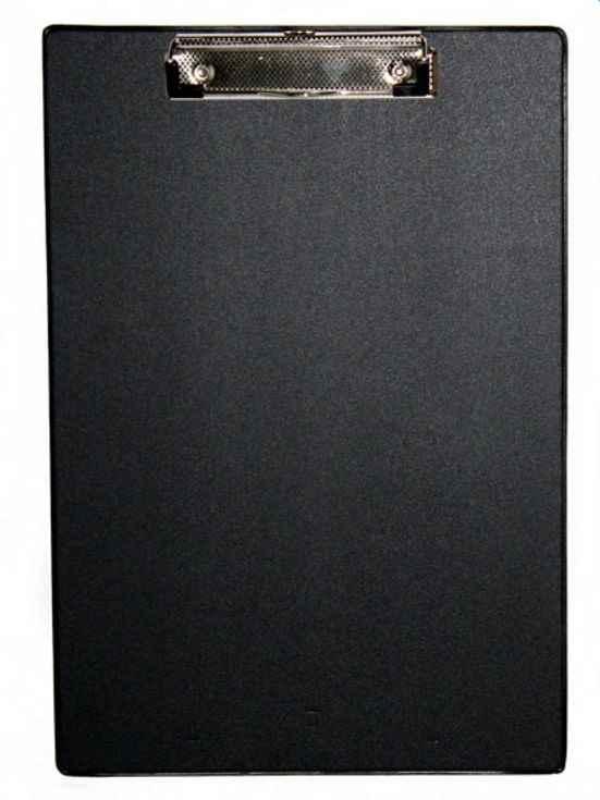 Планшет з кліпом, А4, PVC, чорний, 4-257, 4Office