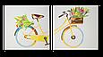 """Керамический дизайн-обогреватель UDEN-S """"8 марта"""" (диптих) (950Вт 18м2)"""
