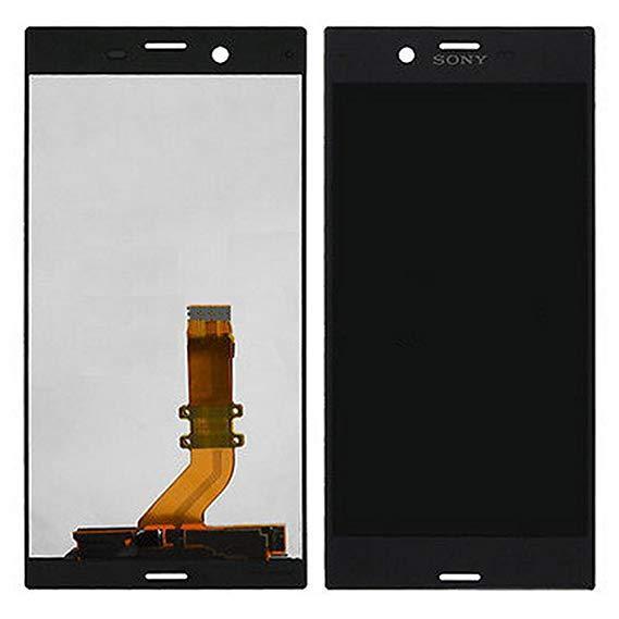 Дисплей для Sony F8331 Xperia XZ/F8332 с тачскрином черный, Mineral Black Оригинал