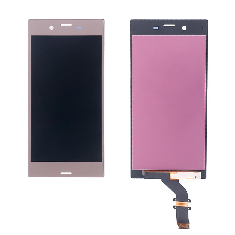 Дисплей для Sony F8331 Xperia XZ/F8332 с тачскрином розовый Оригинал
