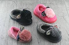 """Комнатные тапочки детские """"Зайчики"""", обувь подростковая, домашняя, Размеры:24/25,27/27, 28/29"""