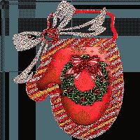 Елочная игрушка для вышивания бисером FLE-021