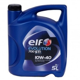 ELF 10w-40 Evolution 700 STI бензин 5л Масло моторное