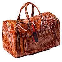 Сумка дорожная саквояж Eminsa 6517 4-2 кожаный коричневый