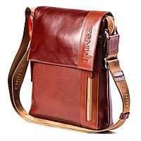 Мужская сумка кожаная коричневая Eminsa 6044-12-4, фото 1